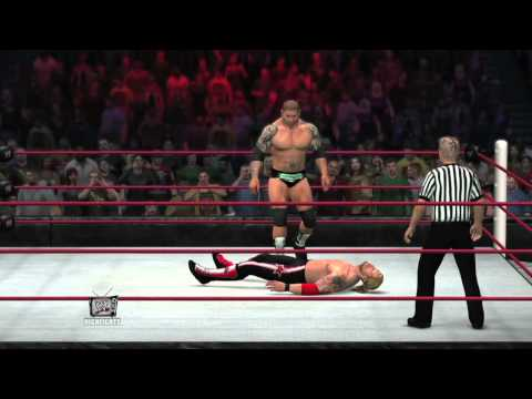 WWE 12 Legends DLC | Batista Bomb