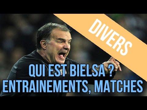 Séquences d'entrainements de Bielsa & résultats de matchs.