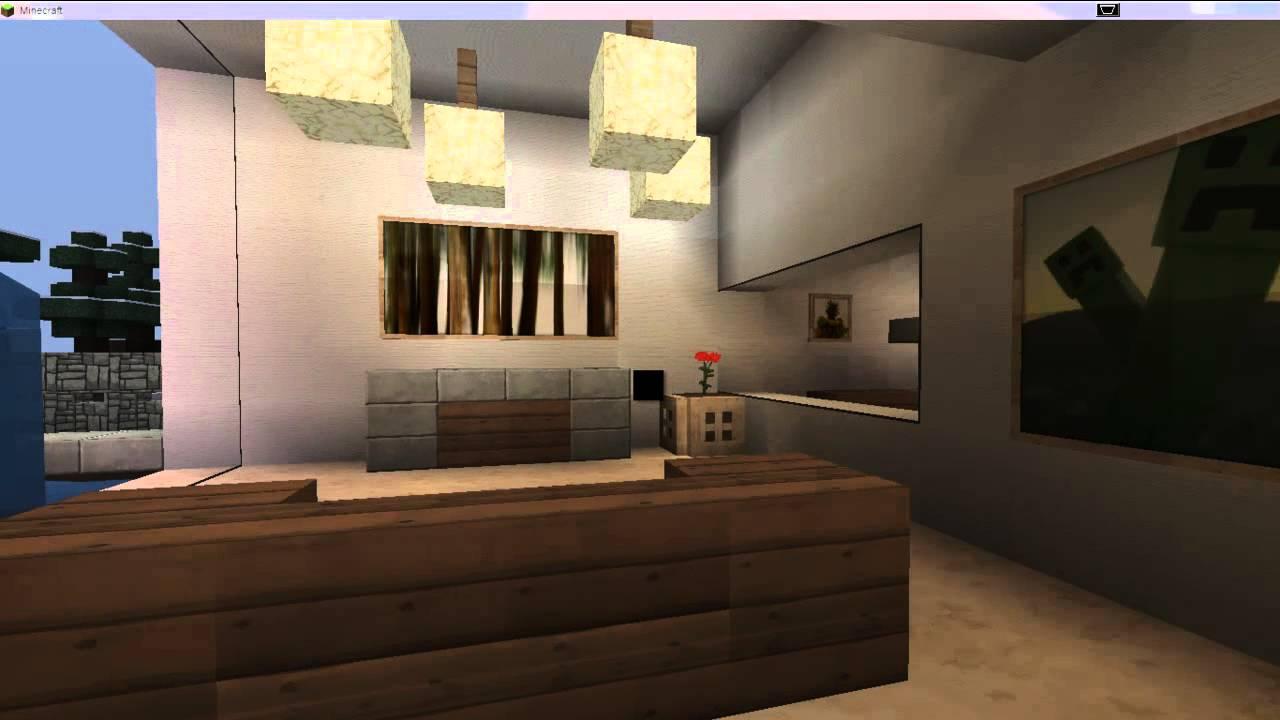 Casa moderna para minecraft 1 4 2 hasta 1 5 2 youtube for Casa moderna para minecraft