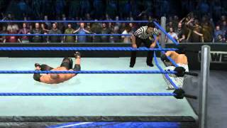 WWE SmackDown Vs. RAW 2011 Kane Vs. Rey Mysterio 619