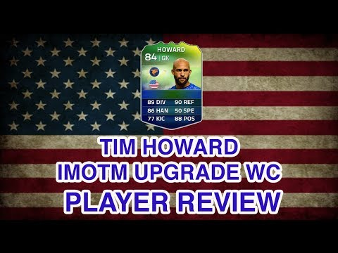 FUT 14 World Cup iMOTM Tim Howard Upgrade Player Review FIFA 14 iMOTM Howard