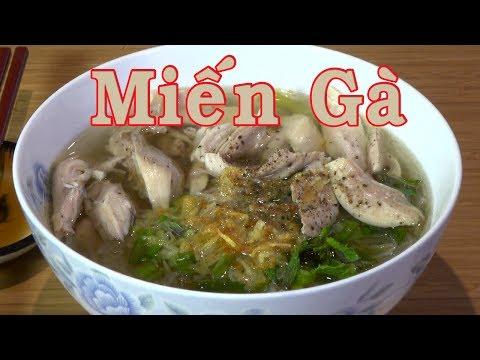 Miến Gà - Đơn Giản,  Thơm Ngon Hơn Tiệm - Nấu Ăn Kiểu Độc Thân - YouTube