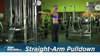 Straight-Arm Pulldown Back Exercise Bodybuilding.com
