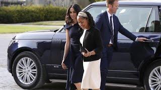 Meghan Markle's mother meets Queen Elizabeth on eve of royal wedding