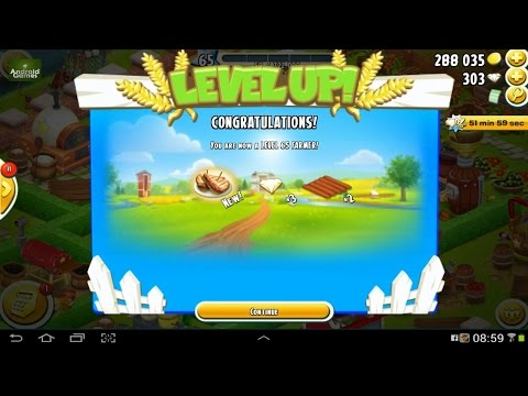 Hay Day Level 65 Update 5 HD 720p