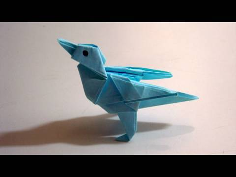 Twitter Bird Origami