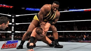 Big E Langston Vs. Curtis Axel: WWE Main Event, Feb. 5