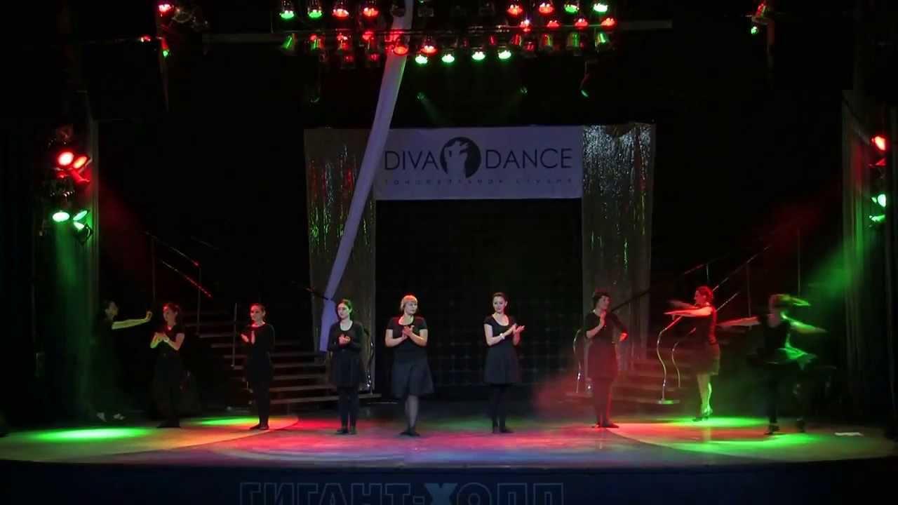 Отчетный концерт в Гигант-холле 02.06.2013 года. Лезгинка видео.