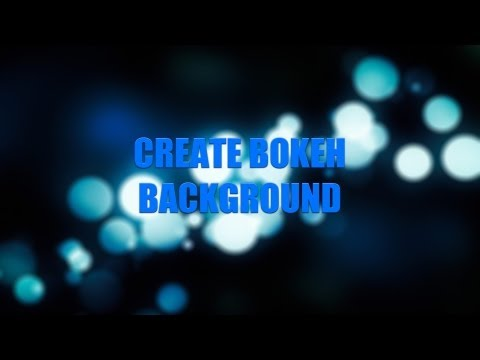 Create a Bokeh Background in After Effects