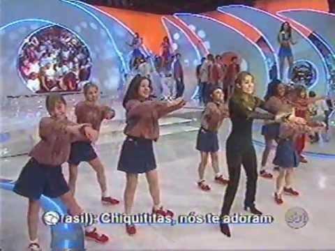Chiquititas Brasil 1998 - Coração Com Buraquinhos no Domingo Legal