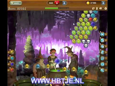Bubble Witch Saga level 55
