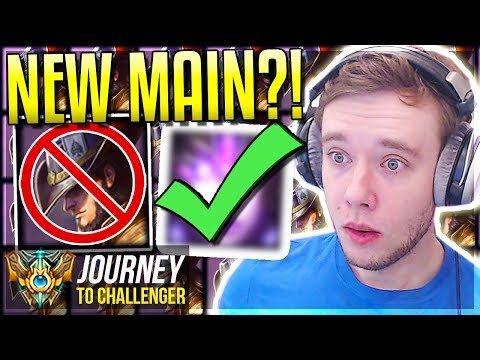 QUITTING MY TF?! MY NEW MAIN TO CHALLENGER??!? - Journey To Challenger | League of Legends