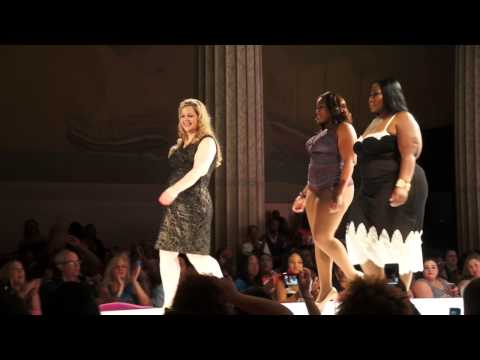 Tia Lyn Lingerie at Full Figured Fashion Week