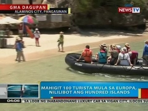 BP: Mahigit 100 turista mula sa Europa, nililibot  image