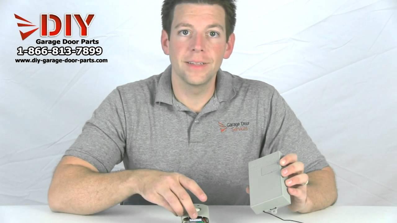 Linear Multi Code Garage Door Opener Amp Receiver Youtube