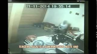 Supermercado � assaltado pela terceira em Machado