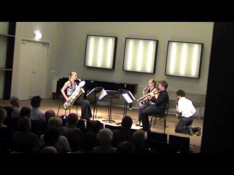 Berlage Saxophone Quartet plays Twee Koralen by Klaas de Vries
