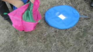 Pop Up Tent, Automatic Camping Steel Wire Pop Up Tent