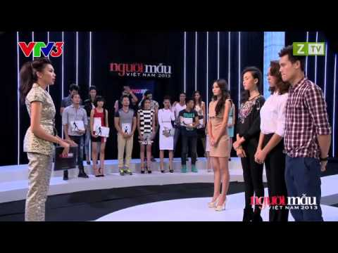 [HD] Vietnam's Next Top Model 2013 Tập 3 Ngày 20/10/2013 Phần 6 END