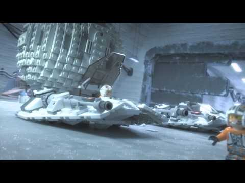 Lego Star Wars - Snowspeeder vs. AT-AT