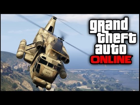 GTA 5 Glitches - Get The Cargobob As Personal Vehicle From Pegasus