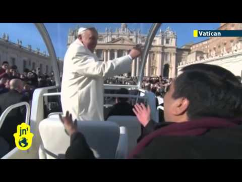 Pope Francis invites priest to join him for ride in Popemobile: Father Fabien Baez is friend of Pope