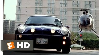 The Italian Job (7/8) Movie CLIP Helicopter Chase (2003