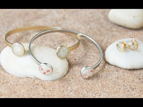 Dune Jewelry Design - Custom Beach Sand Jewelry