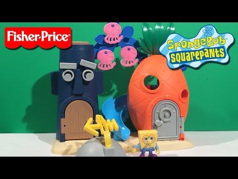 SpongeBob SquarePants: Bikini Bottom Playset, Fisher-Price Imaginext Nickelodeon
