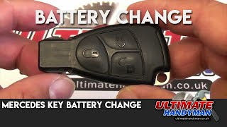 How to change the key in a mercedes Key fob