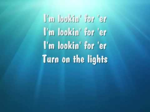 Future- Turn on the lights (lyrics) - YouTube
