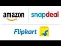 Amazon, Flipkart and Snapdeal join hands. Here's why?..