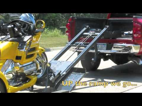 Power Motorcycle Lift (Trike Version) - YouTube