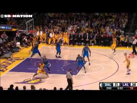 Shawn Marion, Dallas Mavericks isolation post defense Kobe Bryant