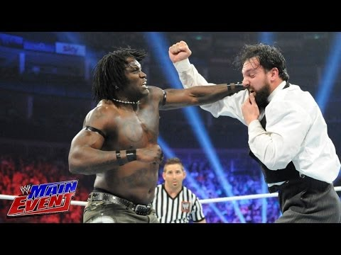 R-Truth vs. Damien Sandow: WWE Main Event, May 20, 2014