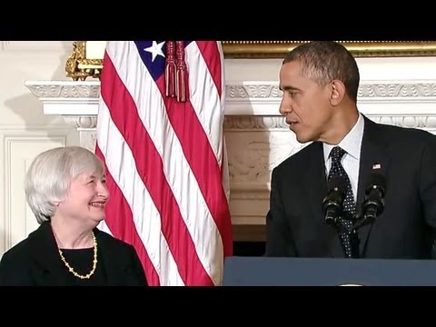President Obama Nominates Janet Yellen As Federal Reserve Chairwoman