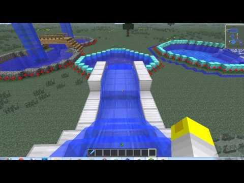 park aquatico no minecraft