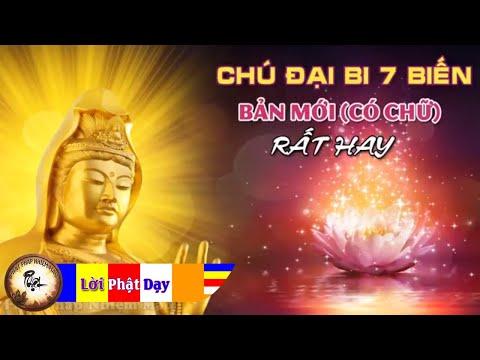 Tụng Kinh Chú đại Bi 7 biến - Thầy Thích Trí Thoát tụng - Nghe Cực kỳ linh nghiệm Phật Bà phù hộ