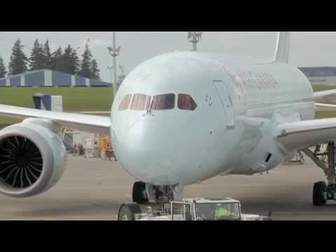 Le Boeing 787 d'Air Canada - Introduction