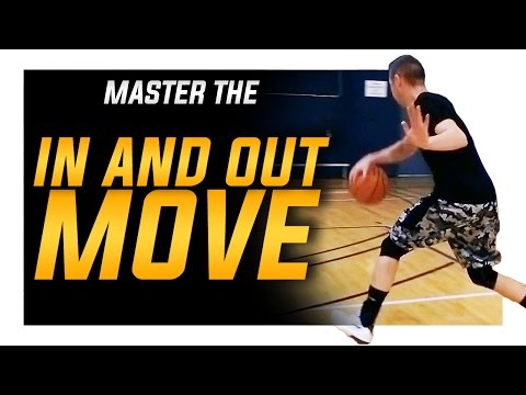 In and Out Crossover Move (BREAK ANKLES): World's Best Basketball Moves