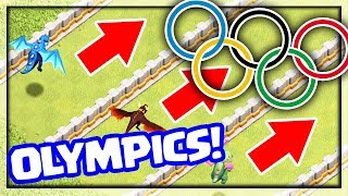 Clash of Clans OLYMPICS - Who's the BEST? Town Hall 12 Edition!