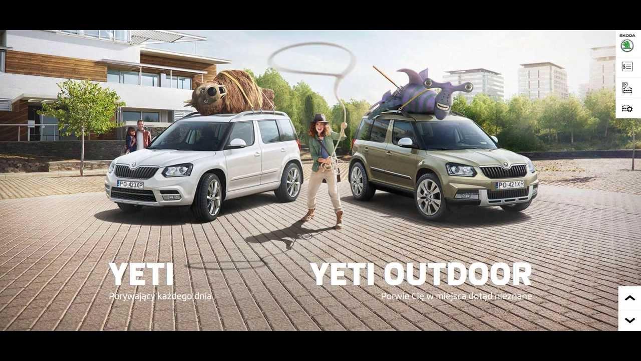 Porwij Skodę Yeti - wygraj Yeti w konkursie! - YouTube