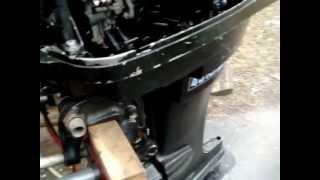40 Hp Mercury Longshaft 1975 Outboard Motor