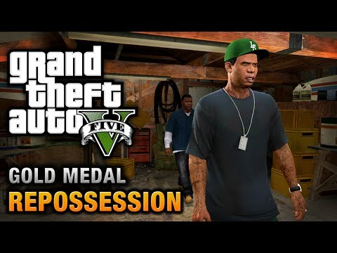GTA 5 - Mission #2 - Repossession [100% Gold Medal Walkthrough],
