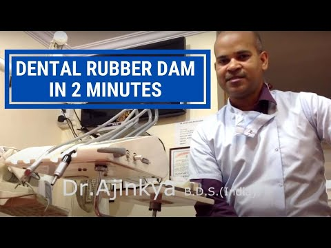 Dental rubber dam in 2 minutes