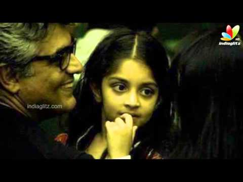 Ajith and family celebrates Anoshka's birthday on a luxury cruise ship in Australia! | Shalini