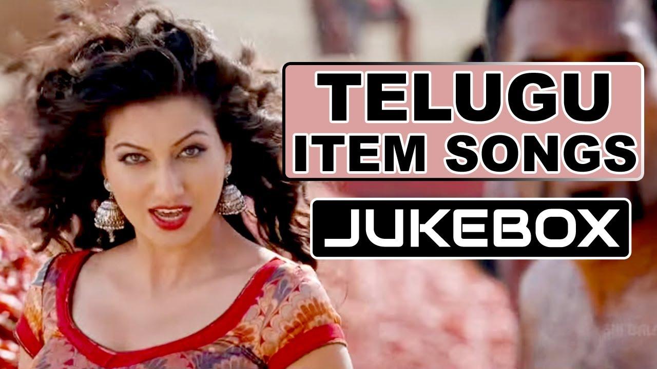 Top 10 Telugu Item Songs  Telugu Dancing Hits - YouTube