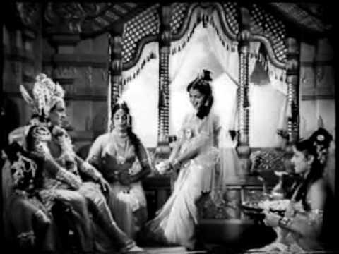 krishna challenge to gandharva raja in ntr sri