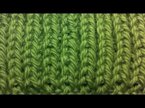 Knit Stitch For Left Handed Beginners : New Stitch A Day: How to Knit Left Handed - The Fishermans Rib Stitch - ...