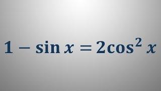Trigonometrične enačbe 18